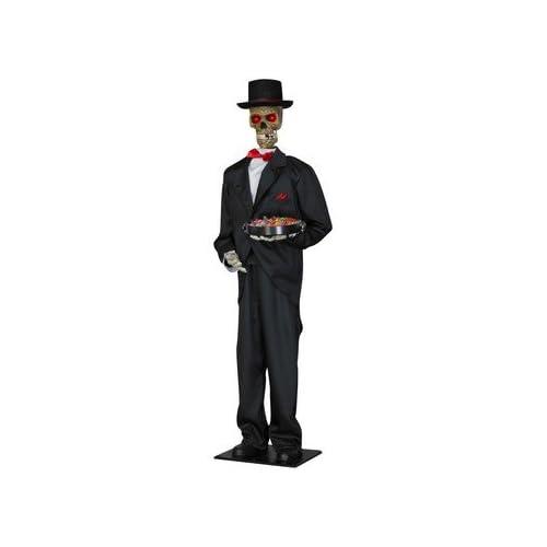 Amazon.com: Gemmy - Lifesize Animated Skeleton Butler - Standard
