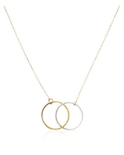 Rhapsody Conjunto de cadena y colgante  oro bicolor 18 ct