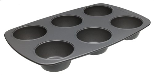 KitchenAid II Nonstick 6-Cup Muffin Pan - Buy KitchenAid II Nonstick 6-Cup Muffin Pan - Purchase KitchenAid II Nonstick 6-Cup Muffin Pan (Lifetime Brands, Home & Garden, Categories, Kitchen & Dining, Cookware & Baking, Baking, Muffin & Popover Pans)