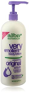 Alba Botanica Body Lotion Orig, Unscented, 32 Fluid Ounce