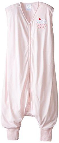 HALO Big Kids SleepSack Lightweight Knit Wearable Blanket, Pink, 2-3T - 1