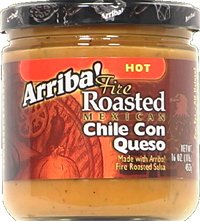 Arriba Fire Roasted Mexican Chile Con Queso Hot 16-Ounce