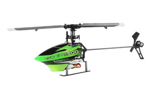 14002000 Ferngesteuerter RC Hubschrauber Flybarless 200 3D Single Blade - 6 Kanal ARTF, grün/schwarz