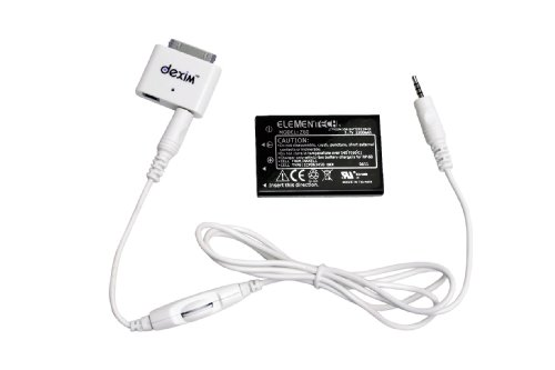 Optoma BC-BBIDMJA, Pico iPad/iPhone/iPod Connection Kit & Battery