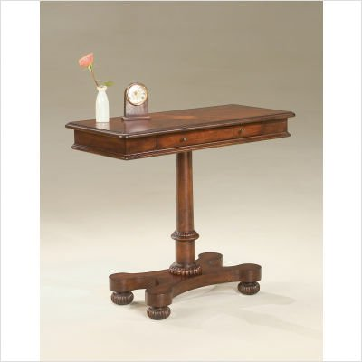 Plantation Cherry Pedestal Console Table