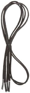 """Perma-Ty 738140024 24"""" Black Elastic Shoelaces (Pack of 3 Pairs)"""