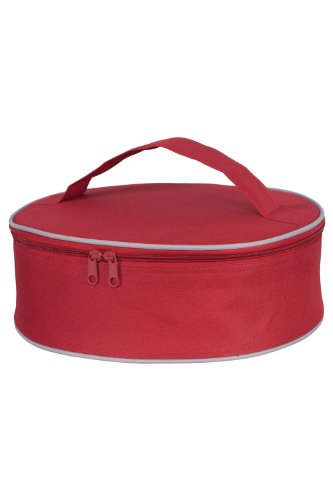Bring It Le Marche Insulated Pie Carrier, Red - 1