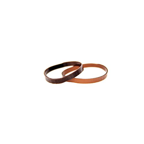 Goody Ouchless Brunette Elastics front-442188