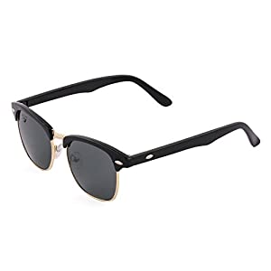 High on Style, this Sunglasses from the Royal son comes in a Stylish Frame. An Eclectic Mixture of Fashion and Wearablility, it include polycarbonate lenses are UV-protected, and shape of glasses gives a fabulous addition to your accessory co...