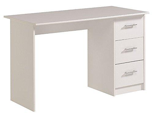 Schreibtisch weiss Jeremy 1, 121x75cm, Schreibtische, Arbeitszimmer , Computertisch kaufen