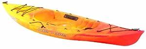 Ocean Kayak 9-Feet 10-Inch Venus 10 Classic Sit-On-Top Recreational Kayak (Sunrise)