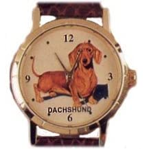 Small Size Dachshund watch