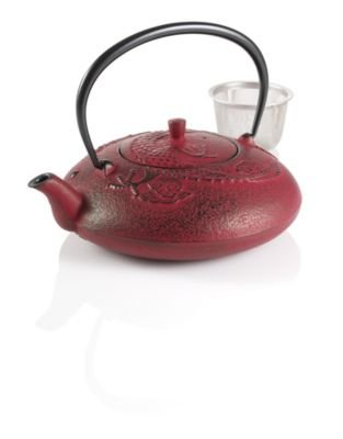 Teavana Year of the Dragon Cast Iron Teapot
