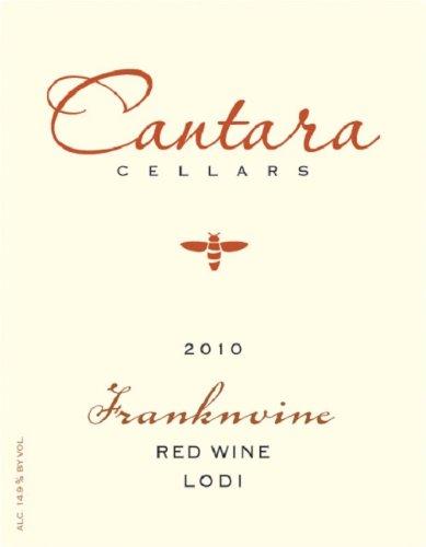 2010 Cantara Cellars Franknvine Red Blend 750 Ml