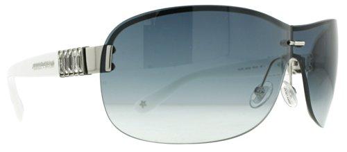 Jimmy ChooJimmy Choo Flo Sunglasses Palladium / White / Dark Blue Gradient