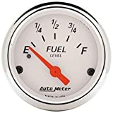 Autometer 1317 Arctic White Series Fuel Level Gauges