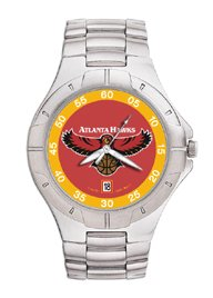 Atlanta Hawks NBA PRO II Metal Sports Watch by Logo Art