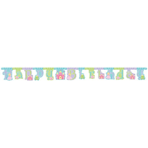 Fairy Princess Jointed Banner Large, 7 Inch - Each by KidsPartyWorld.com - 1