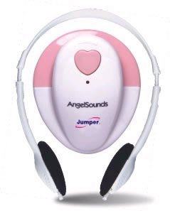 Jumper Prenatal Heart Listener/Detector- Pink image