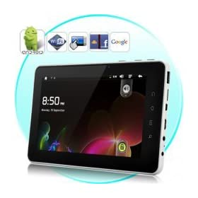 BRILLIAN TAB-ANDROID 2.3 TABLET WITH 7 INCH CAPACITIVE TOUCHSCREEN (WIFI, CAMERA,M HDMI 4GB)