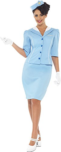 Smiffy's Women's Air Hostess Costume