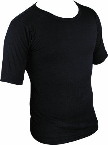 highlander-maglietta-termica-a-maniche-corte-strato-base-da-uomo-nero-nero-medium