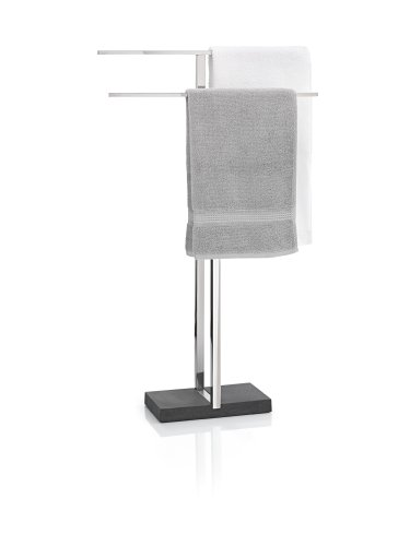 Blomus Floor Standing Towel Rack Stand, Polished Stainless Steel (Floor Standing Towel Rack compare prices)