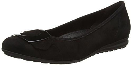 Gabor Shoes Comfort Sport, Ballerine Donna, Nero (Schwarz 47), 36 EU