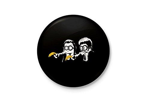 Alter Ego Minion Fiction Funny Minimalist Badge