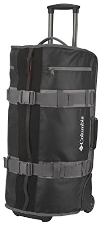 Columbia Luggage Axle 68 Rolling Duffel Bag, Black, One Size