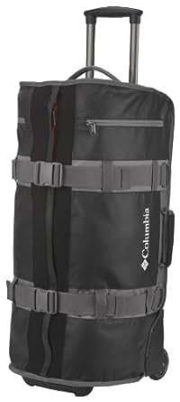 Columbia Luggage Axle 68 Rolling Duffel Bag, Black, One Size