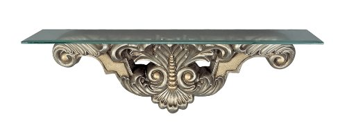 Cheap Cal Lighting BO-821CST Beads Leaf Console Table Wall Mounted (BO-821CST)