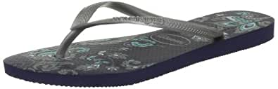 Havaianas  Slim Season Sandals Womens  Blue Blau (navy blue 0555) Size: 39/40