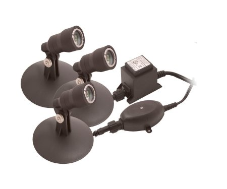 Garden Accents: Pond and Landscape LED Light Kit Case Pack 3