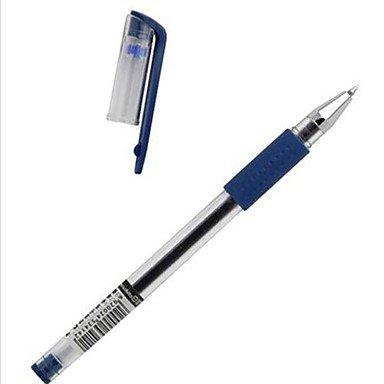 LWW Dark Blue Ink Gel Ink Pen (azul, paquete de 12)