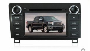 Pioeneer Intelligent In Dash Navigation For (2007-2012) Toyota Tundra 6-8 Inch Touchscreen Double-Din Car Dvd Player & In Dash Navigation System,Navigator,Build-In Bluetooth,Radio With Rds,Analog Tv, Aux&Usb, Iphone/Ipod Controls,Steering Wheel Control, R