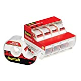 Scotch Transparent Tape, Versatile, Photo-Safe, 3/4 x 850 Inches, 4 Rolls (4814)