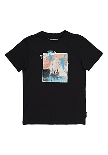 G.S.M. Europe - Billabong - Maglietta da bambino/ragazzo Captured Boys Short Sleeve, Ragazzo, T-Shirt CAPTURED BOYS Short Sleeve, nero, 164