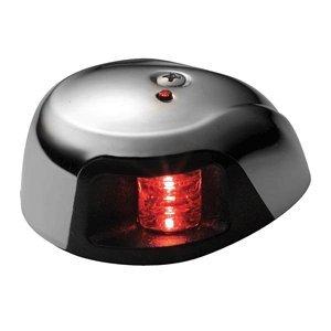 Attwood 3500 Series 2-Mile Led Red Sidelight - 12V - Stainless Steel Housing