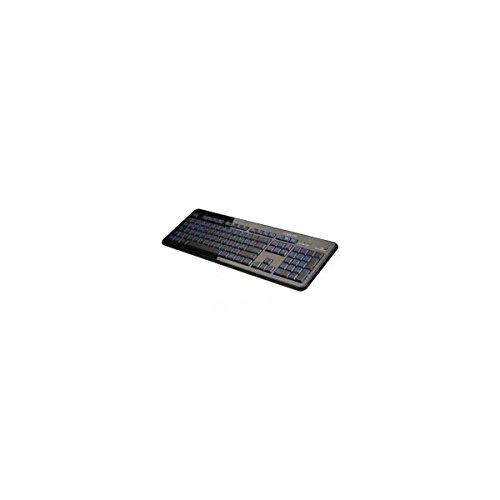 LogiLink 2-Farbig Beleuchtete Tastatur Schwarz (ID0080)