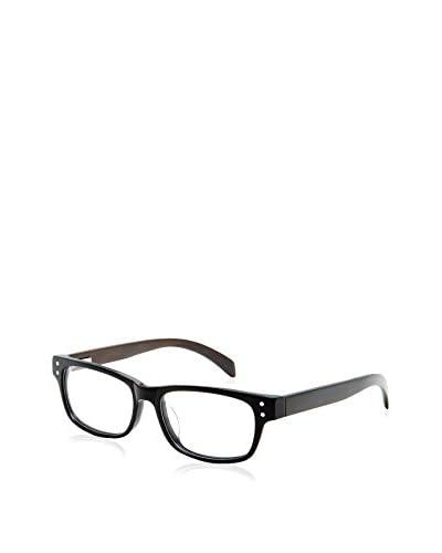 Ivory + Mason Women's Oriole Eyeglasses, Black/Walnut