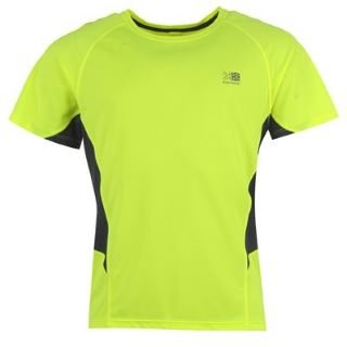 karrimor hi viz running t shirt mens at runninginjury