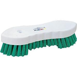 Scrubbing Brush - Stiff Bristles - Green - Size - 209mm(L)