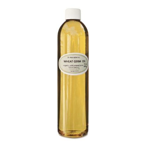Wheat Germ Oil Cold Pressed 100% Organic Pure 12 Oz
