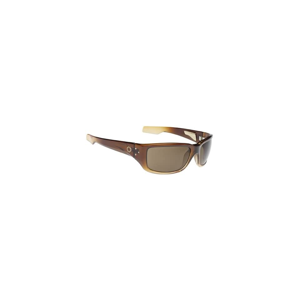 9d42059424 Spy Nolen Sunglasses Coconut Cream Fade Frame Bronze on PopScreen