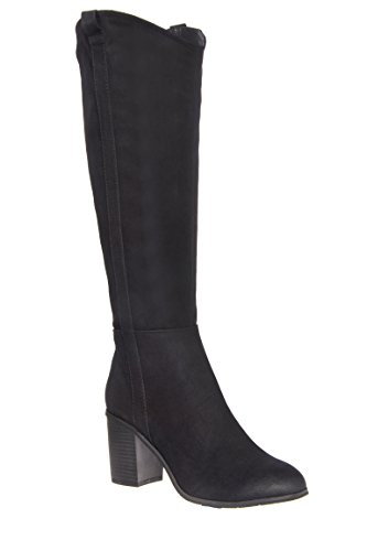 In Cahoots Mid Calf High Heel Boot