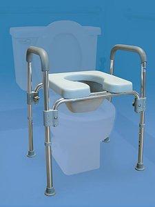 Amazon Com Toilet Safety Frame With Raised Toilet Seat