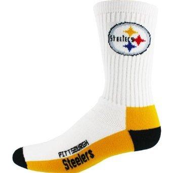Pittsburgh Steelers Men's Crew Socks from SteelerMania