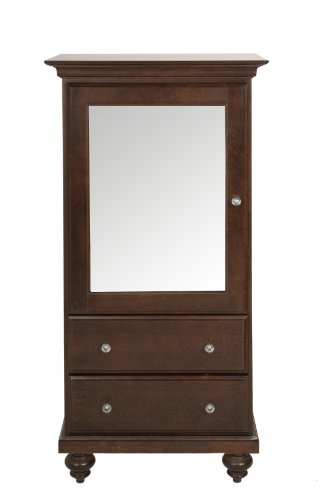 Offspring Violet 2 Drawer Mirrored Armiore, Java