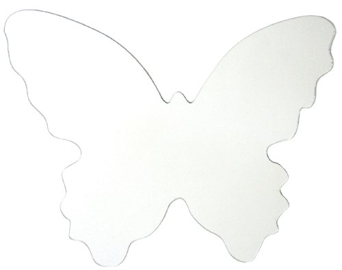 RoomMates MIR0002BTL Butterfly Peel & Stick Mirror